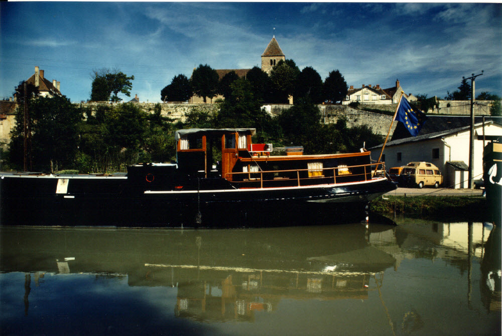 The most beautiful barge in the world