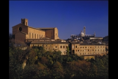 Church and Monastery Buildings in Siena